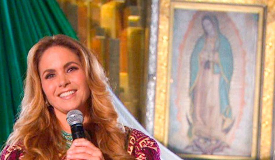 Lucero le muestra su amor a la Virgen de Guadalupe con recuerdos