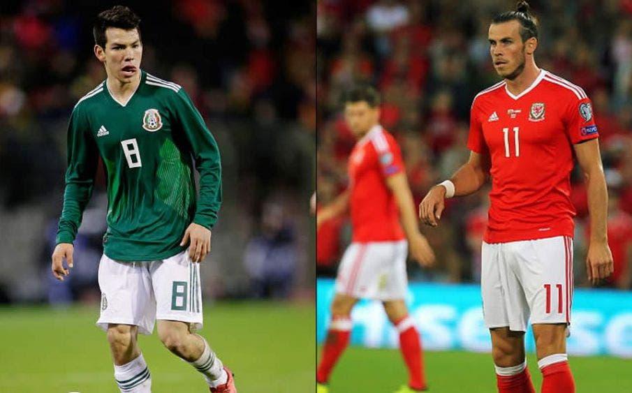 La Selección de México se enfrentará a Gareth Bale