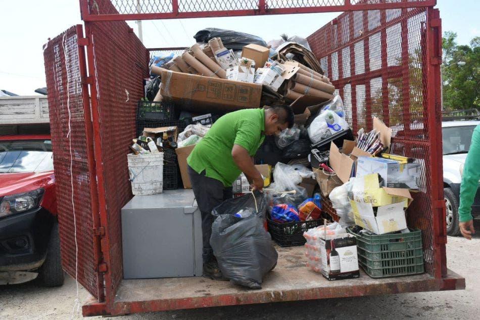 Han participado más de 2,500 personas y recopiladas más de 15 toneladas de residuos reutilizables, señala la directora de Ecología, Nancy González González
