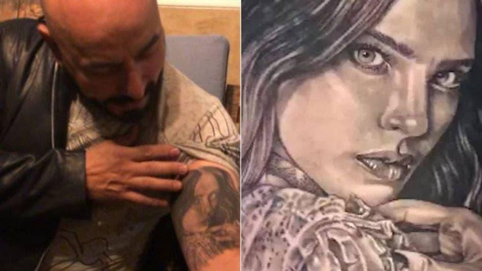 """Lupillo Rivera hará """"negocio"""" con su tatuaje de Belinda"""