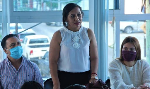 Se va Liliana Castro de Morena en Quintana Roo.