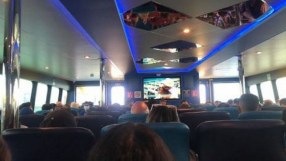 Sobrecupo de pasajeros también se da en ferrys de Ultramar