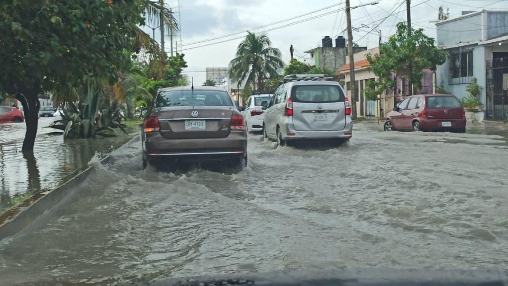 Se prolongarán hasta el jueves las lluvias en Cancún.