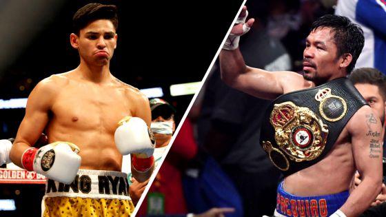 Ryan García vs Manny Pacquiao; aquí los detalles
