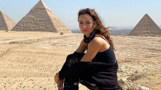 Marimar Vega disfruta Egipto con nueva serie