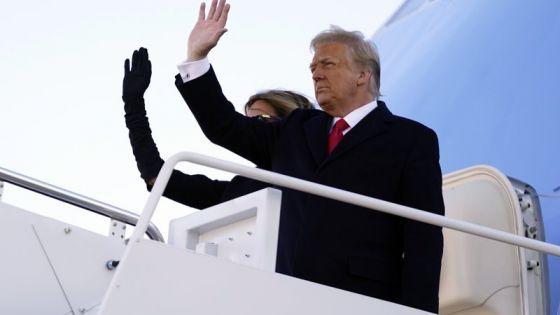 Ha sido el honor de toda una vida: Donald Trump.