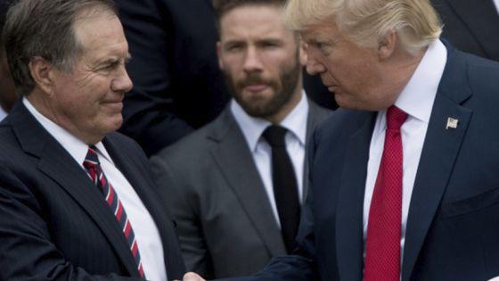 Belichick rechaza medalla que ofreció la presidencia de Trump