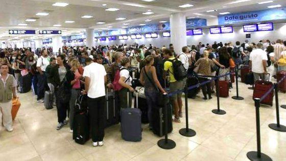Repuntan operaciones en el aeropuerto de Cancún