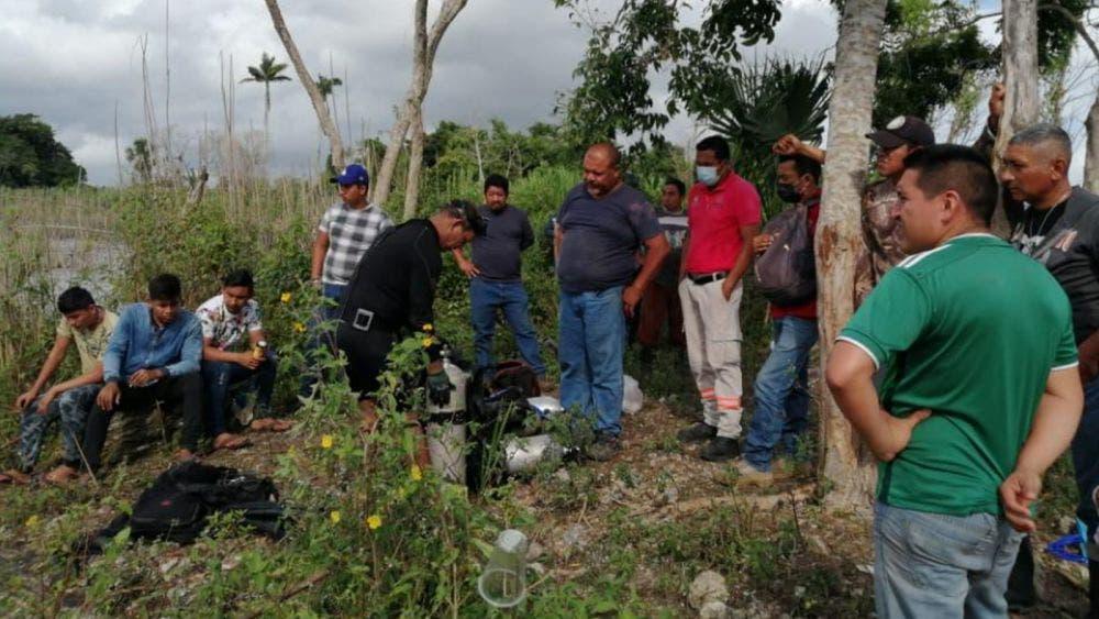 Encuentran ahogado a cazador desaparecido en la zona maya