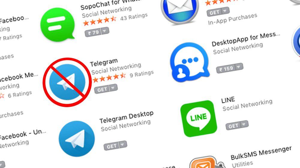 Activistas demandan a Apple, piden eliminar Telegram de la App Store