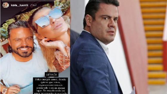 Novia de exgobernador de Jalisco lo recuerda en su cumpleaños 47