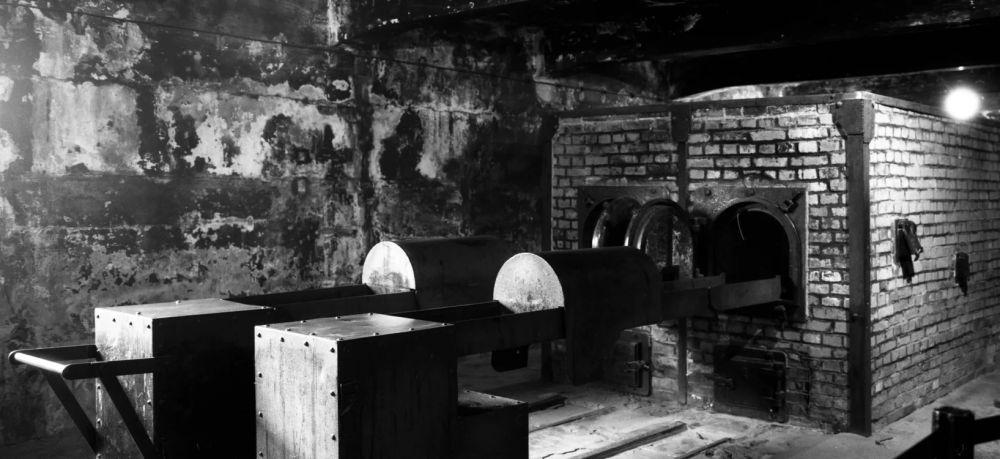 El crematorio cerca de la cámara de gas uno en el antiguo campo de exterminio nazi de Auschwitz I en Oswiecim, Polonia. / AP / Markus Schreiber