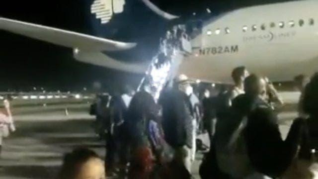 Vuelo de Aeroméxico Cancún-CDMX sufre accidente durante el despegue