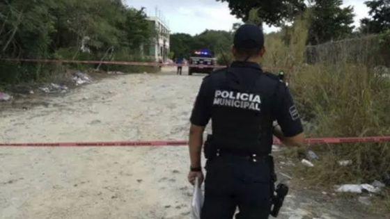 Comando armado balea y quema casas de rancho en Playa Del Carmen
