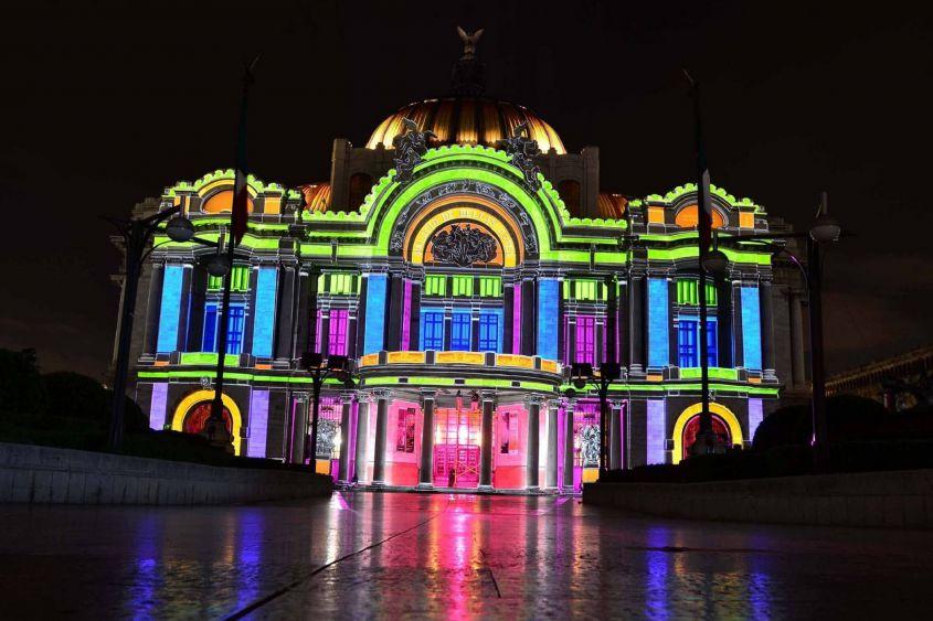 Modernizan red eléctrica del Palacio de Bellas Artes