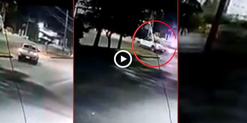 Video: Encontronazo de una patrulla en Cancún.