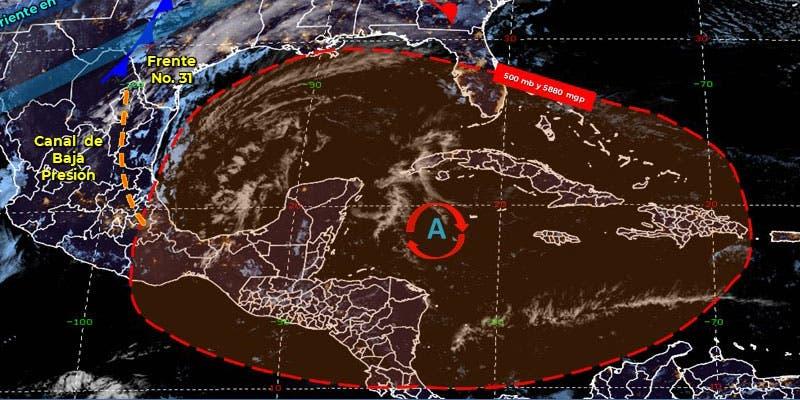Clima: Se pronostican lluvias aisladas para hoy en Quintana Roo.