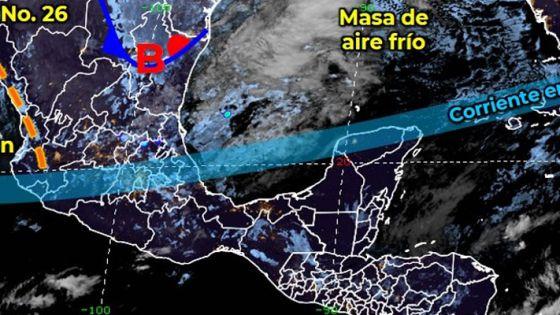Clima: Se prevén lluvias aisladas para hoy en Quintana Roo.