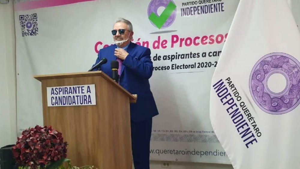 Se lanza 'Kiko' como precandidato para gobernador de Querétaro