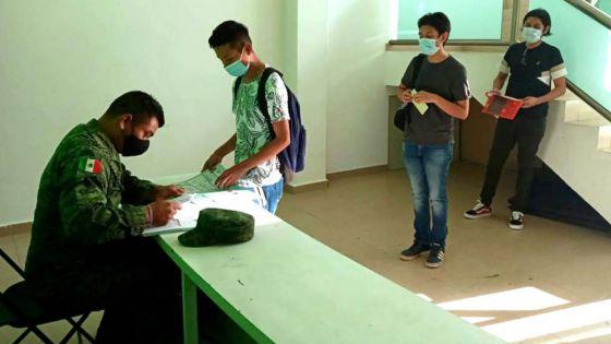 Invita gobierno de Puerto Morelos a jóvenes a tramitar cartilla militar
