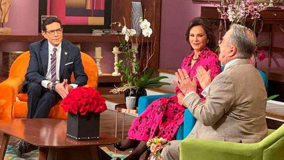 Celebran 'Pepillo' Origel y Martha Figueroa 25 años de 'Ventaneando'