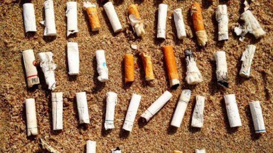Limpieza de Playa Delfines arroja 7 kilos de colillas de cigarro