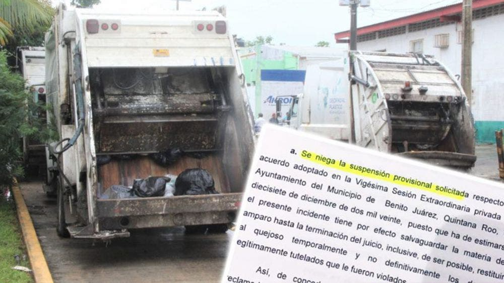 En suspenso, resolución de juzgado a concesión de basura