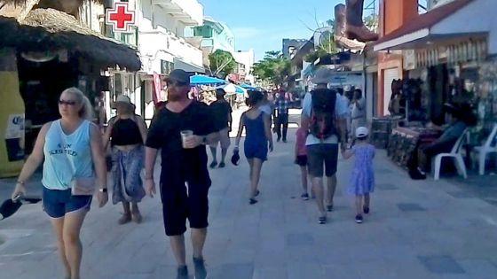 Riesgo en actividad turística en Playa Del Carmen por covid: empresarios