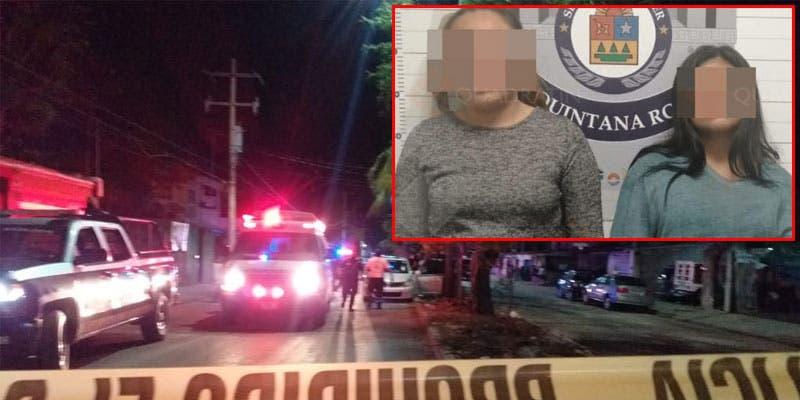 Caen dos mujeres por asesinato de taxista en Cancún.