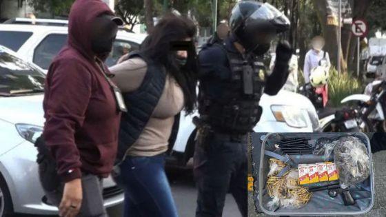 Detienen a madre e hijo por vender armas y hasta granadas