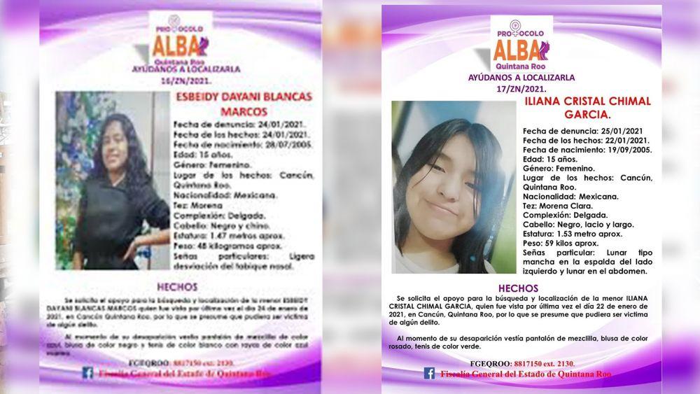 Reportan desaparición de dos menores más en Cancún