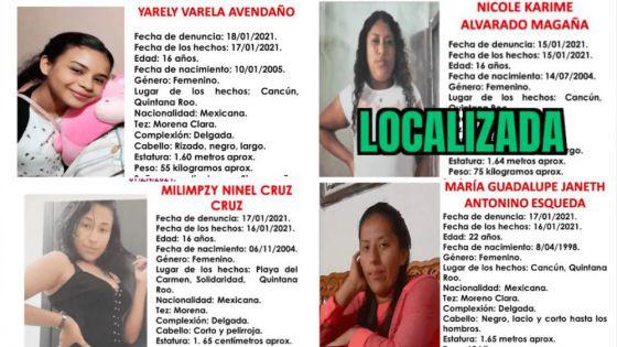 Alarma desaparición de mujeres en Quintana Roo, 13 en menos de un mes
