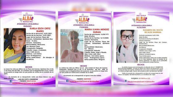 Temor por oleada de desapariciones en Playa Del Carmen