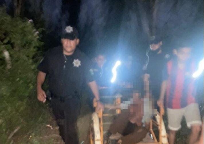 Rescatan a adulto mayor desmayado por deshidratación en montes de Valladolid