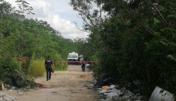 Hallan dos ejecutados y embolsados en Playa del Carmen; los hechos se registraron esta mañana en Los Olivos y Villas del Sol.
