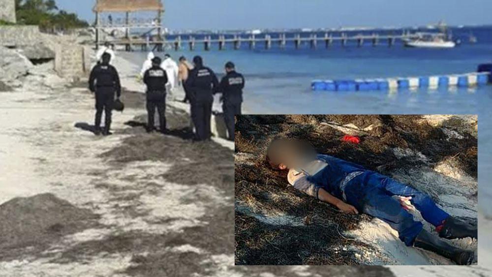 De brutal golpiza, dan muerte a joven y lo abandonan en playa de Cancún