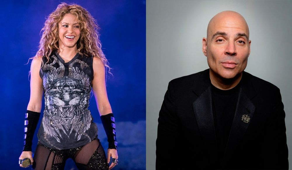 Él es Merck Mercuriadis, el hombre que 'compró' a Shakira