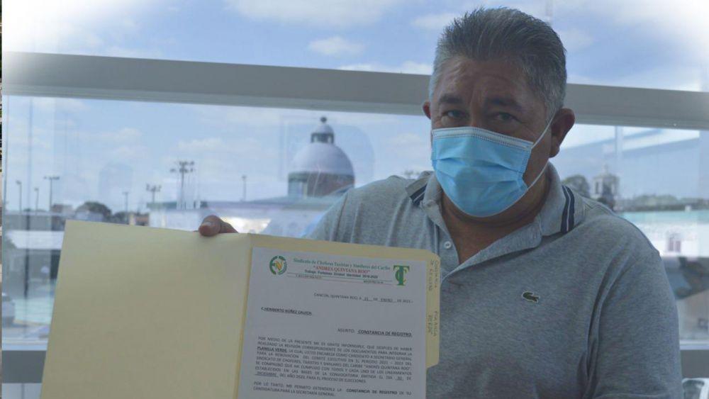Firman Pacto de Civilidad aspirantes a dirigencia taxista