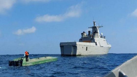 Detienen a colombianos en embarcación con presunta cocaína