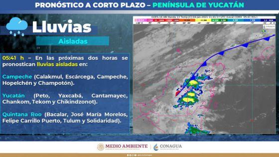 Alerta Protección Civil por bajas temperaturas en Quintana Roo.