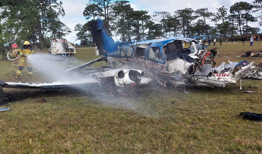 Se desploma avioneta en Chiapas; herido el piloto; el percance aérea ocurrió en la localidad Quistajito, en el municipio de La Independencia.