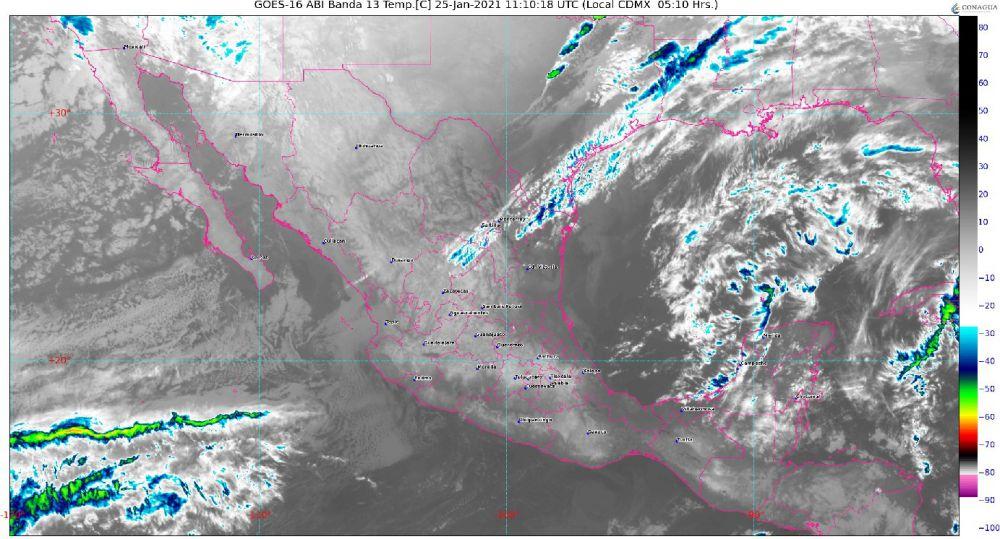 Clima: Se pronostican lluvias aisladas para hoy en Quintana Roo; por la tarde se incrementará la nubosidad y ambiente muy caluroso.