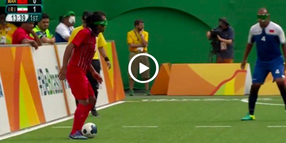 El sorprendente gol que anotaron en el futbol adaptado (video)
