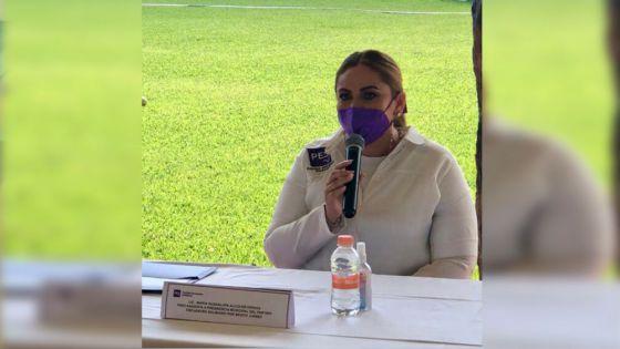 Anhela Guadalupe Alcocer candidatura a presidencia por el PES