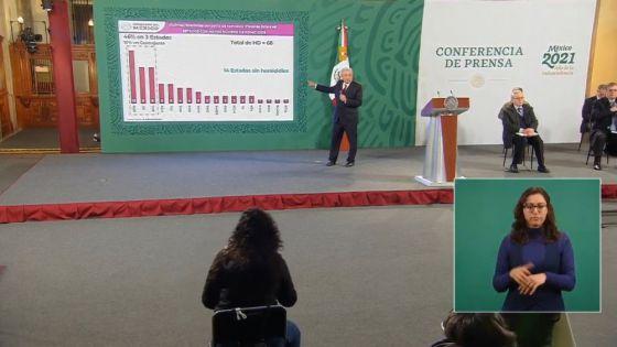 Genera descomposición social violencia en Guanajuato: AMLO