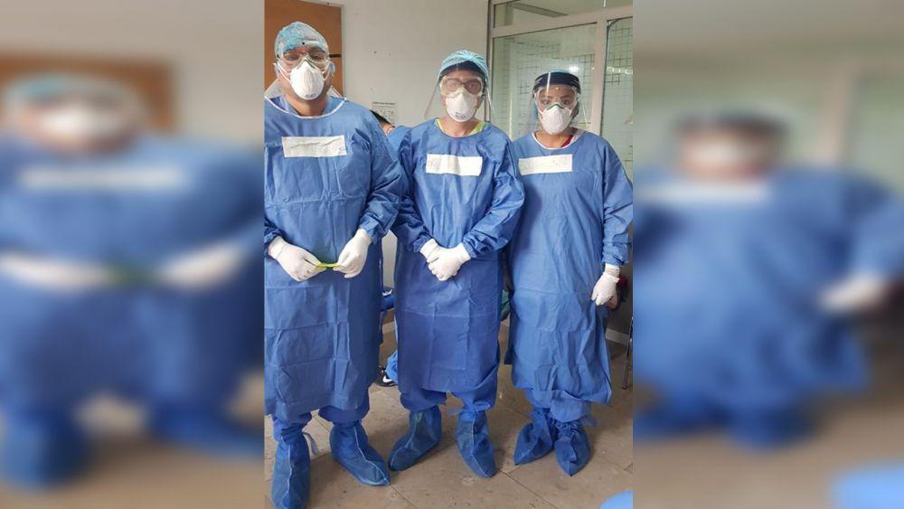 Continúan médicos del IMSS Quintana Roo apoyando en CDMX