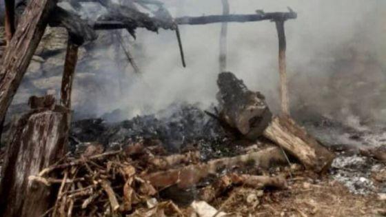 Sujeto de Tizimín quema basura y provoca incendio en la palapa de su vecina