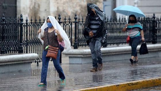 Frente frío no.26 trae fuertes lluvias, vientos y 'heladez' para Yucatán