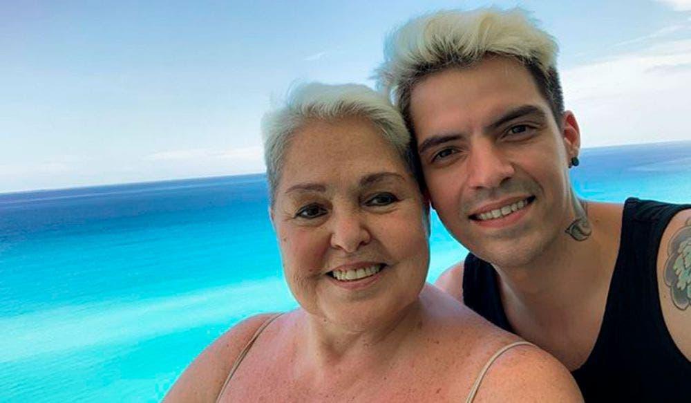 Lupita D'Alessio dice que casi matan en golpiza a su hijo César D'Alessio