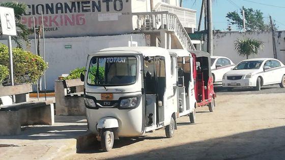 Cayeron las ganancias de los mototaxistas del puerto de Chiquilá.